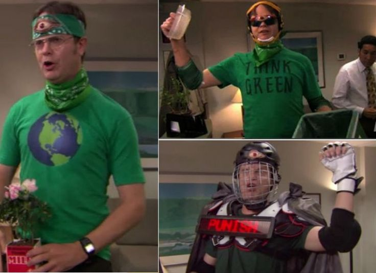 """Recyclops"" Dwight from The Office"