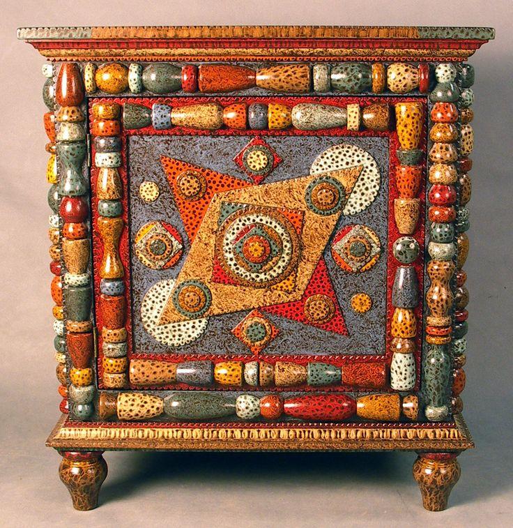 Tramp Art furniture