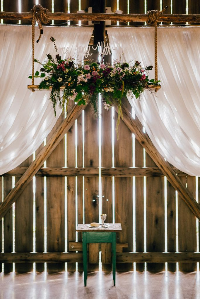 51 best ceremony arbors arches backdrops images on pinterest floral swing unique ceremony flowers ceremony backdrop barn wedding kentucky lauren junglespirit Image collections