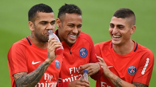 """Dani Alves has told Diego Forlan to """"shut the f**k up"""" after the striker gave his opinion on the dispute between Neymar and Edinson Cavani at Paris Saint-Germain."""