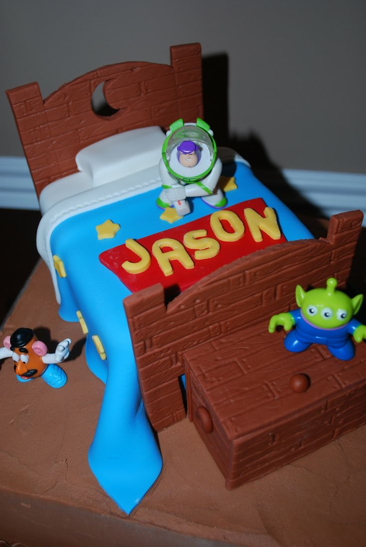 """Toy story cake  by"""" The Baking Sheet"""