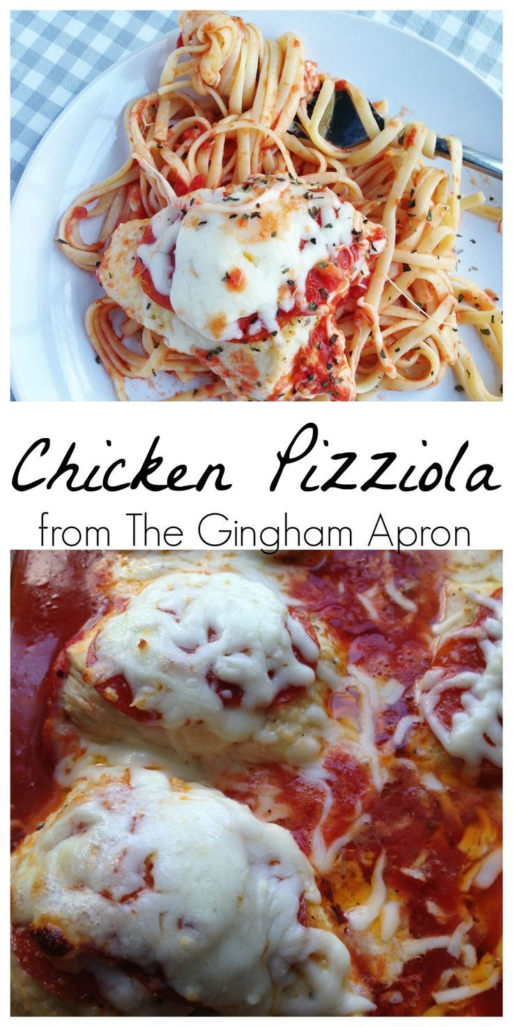 Chicken! Pepperoni! Cheese! Pasta! Easy!