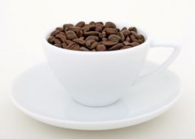 Who knew?  Beauty aids with coffee