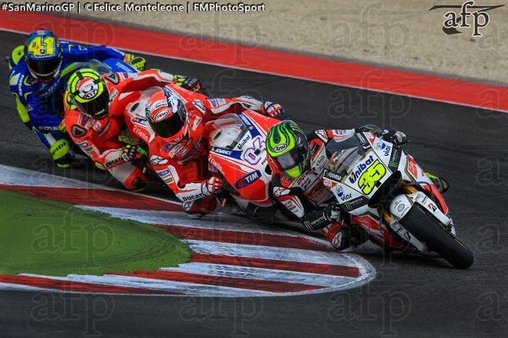 MotoGP Riders in action