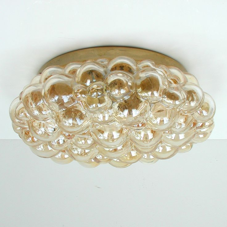 Bubble Flush Mount Lamp by Helena Tynell for Limburg, 1960s 1
