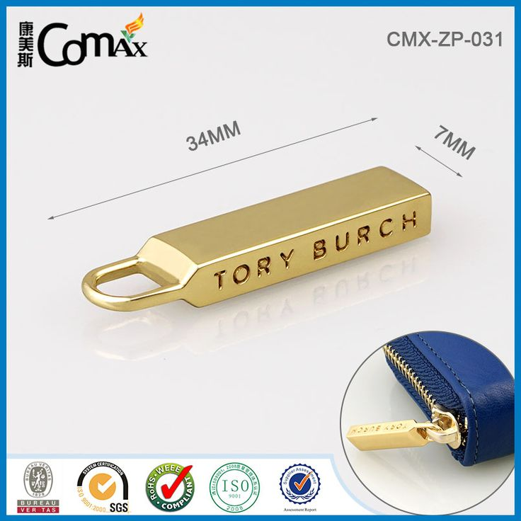 Clutch Bags/purse/handbags Accessories Custom Metal Zipper Puller Photo…