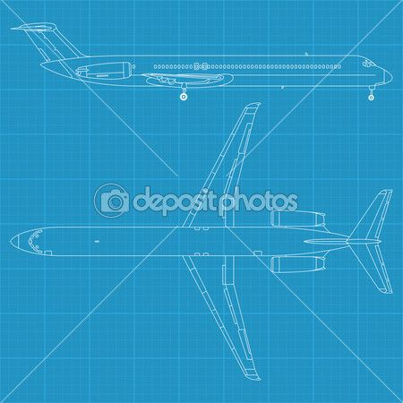 McDonald Douglas MD80 - Modern civil airplane