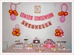 Resultado de imagen para como decorar un baby shower con papel crepe