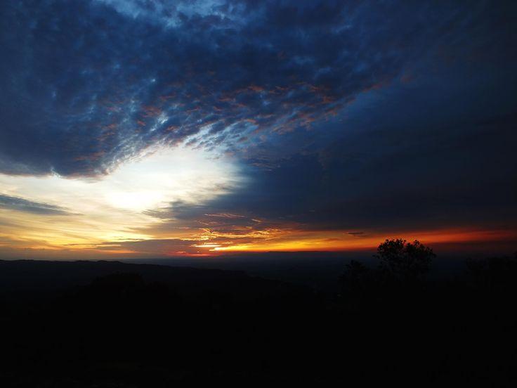 Sunset Gunung Api Purba
