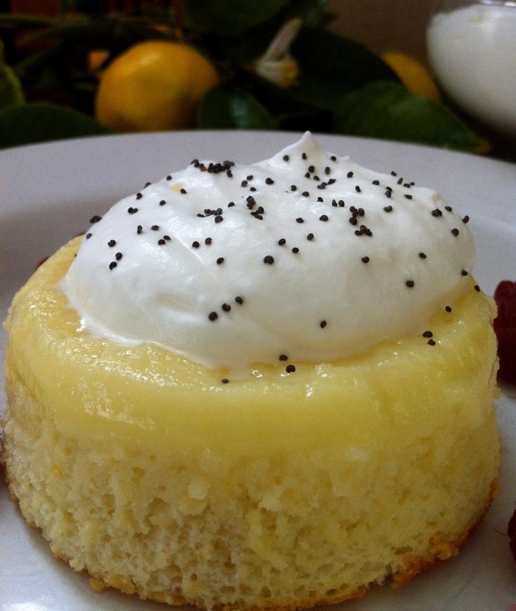 Recipe Meyer Lemon Pudding Cake