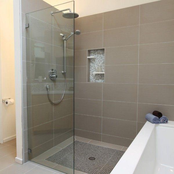 WC Wand/Dusche Badewanne Ablage in Dusche