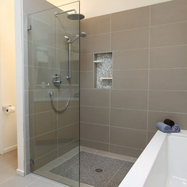 Keller Dusche Nachr?sten : Bathroom Shower Tile Ideas 12 X 24 Tile