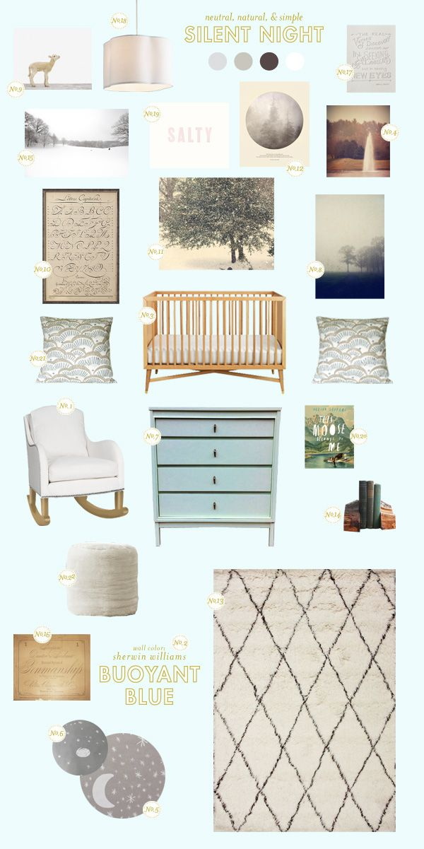 beautiful gender-neutral nursery accessories fit for a baby boy or baby girl
