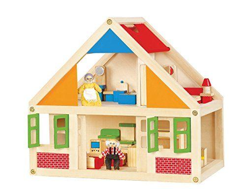 Viga Wooden Dolls House with 24 pieces of Furniture #56254A Viga http://www.amazon.co.uk/dp/B00AKDZCVO/ref=cm_sw_r_pi_dp_7i2.ub0GYGNHG