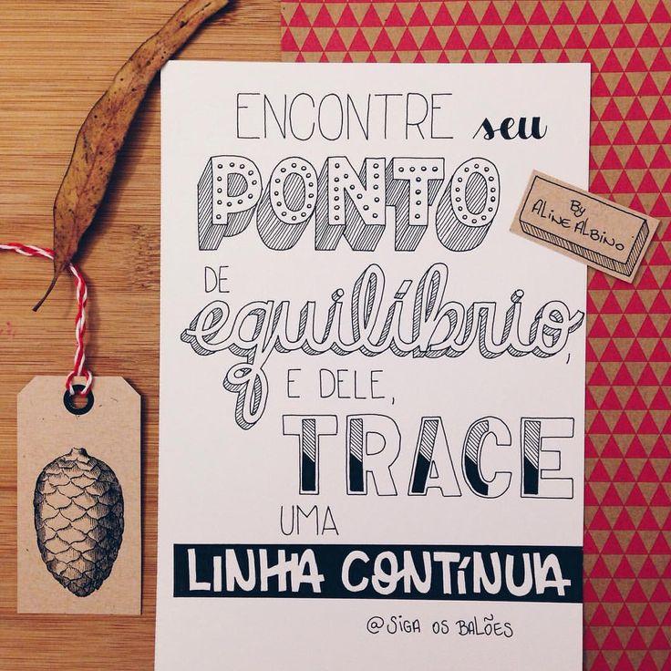#ficadica do querido Dani do @sigaosbaloes  . #typespire #goodtype #thedailytype #calligritype #thedesigntip #handlettering #lettering #typo #typeveryday #handmadefont #typoholic #creativity...