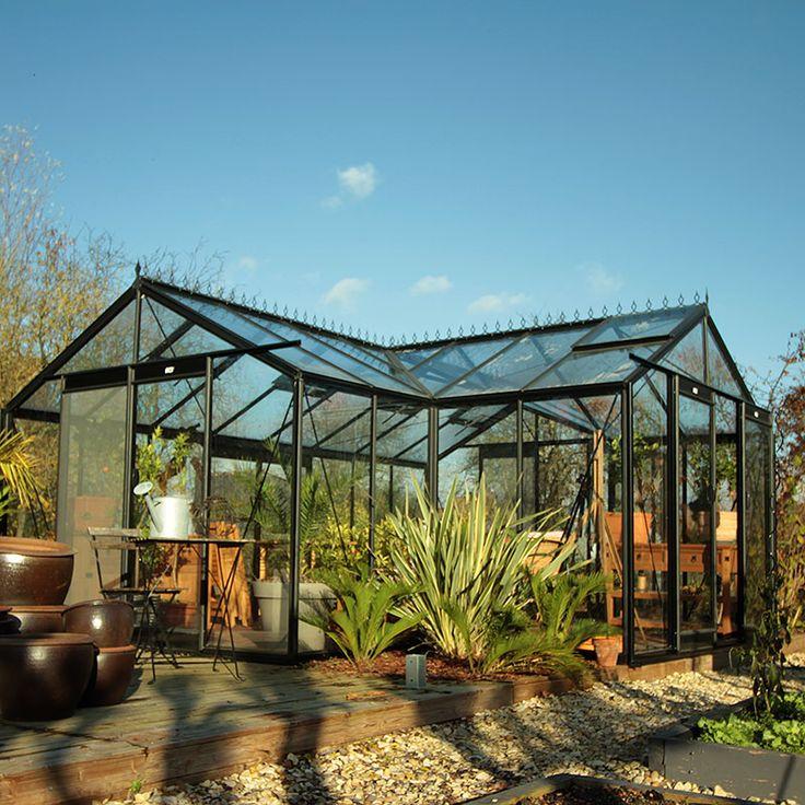 Orangeri Sophie, ett växthus för odling och avkoppling #Växthus #Orangeri #Uterum #Sophie