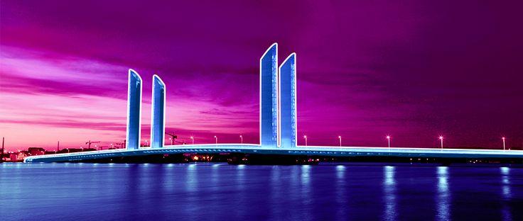 Le Webullissime pont Chaban Delmas à Bordeaux ! #Bordeaux #Architecture #agencewebdesign