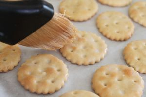 Homemade Ritz Crackers from My Foodstorage Cookbook- all with shelf-stable ingredients from your foodstorage!