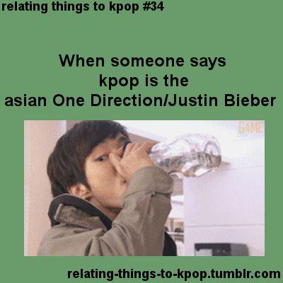 Kpop | Momentos Divertidos | Cuando alguien dice que Kpop es como la copia asiática de One Direction y Justin Bieber    A ver, a ver... ¡Kpop es mejor que esas cosas!
