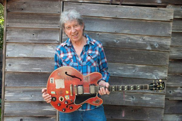 elvin bishop with his guitar �red dog� watch amp listen to