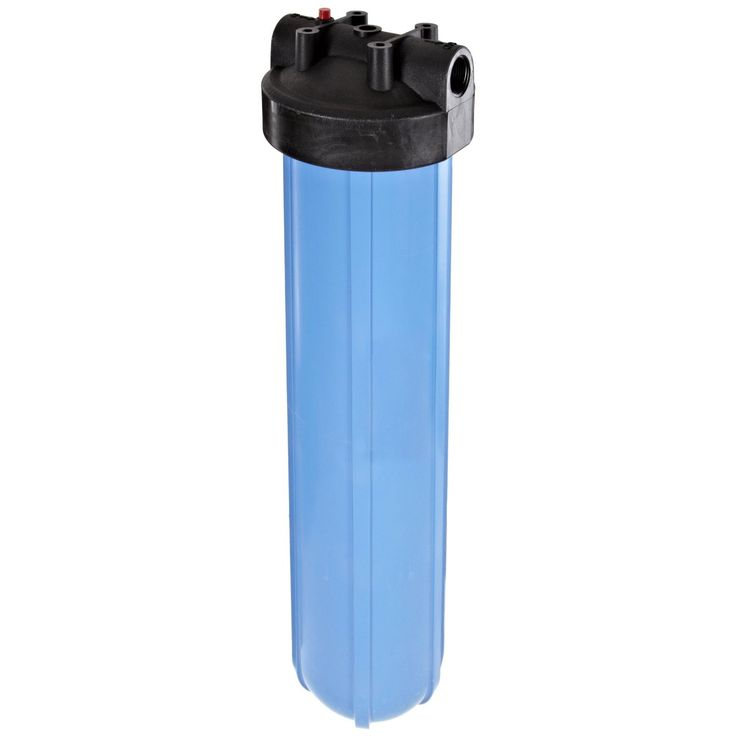 DUAL BIG BLUE WATER FILTERS HOUSING 4 5 X 20 1 NPT USA MADE