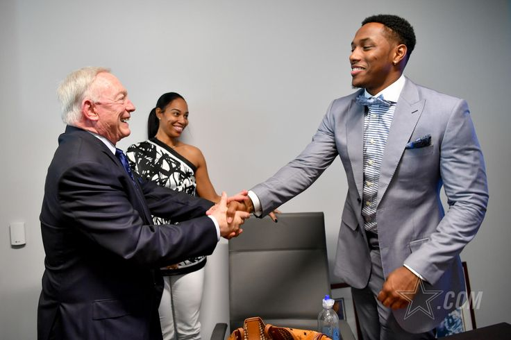 View some of our favorite photos from Taco Charlton's first visit to The Star as a member of the Dallas Cowboys.