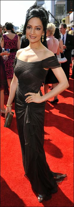 Archie Panjabi: Public High-Fives for Good Wife's Guarded Private Eye | Television Academy