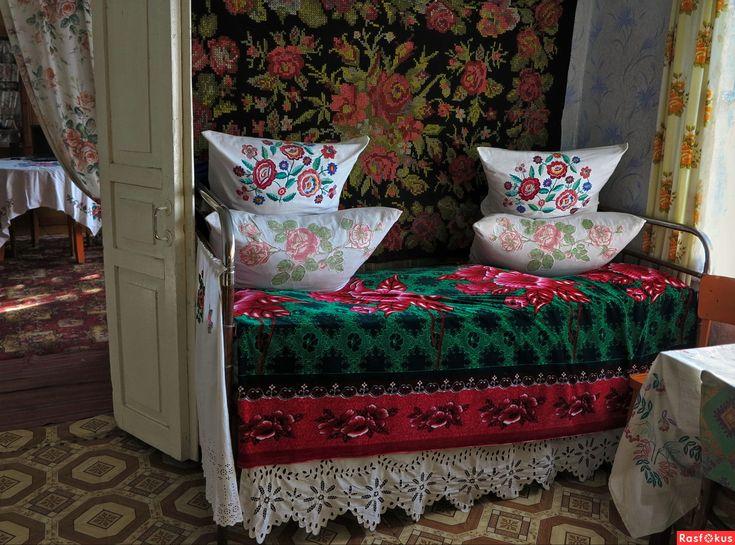 Интерьер сельского дома / Russian cottage interior
