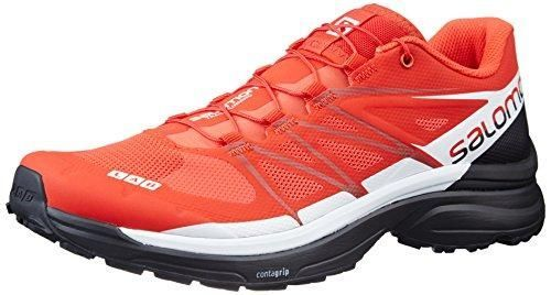 Salomon S-Lab Wings 8 Trail Running Shoe - Racing Red/Black/White