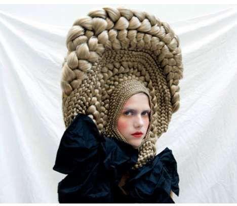 crazy hair hat