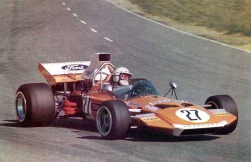 1972 Kyalami Team Gunston Surtees TS9 John Love