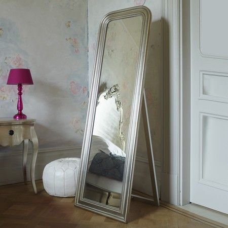 Charleston Free Standing Floor Mirror - Floor Mirrors - Mirrors - Lighting