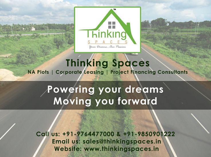 Thinking Spaces #naplots #corporateleasing #nashik #projectfinancingconsultant