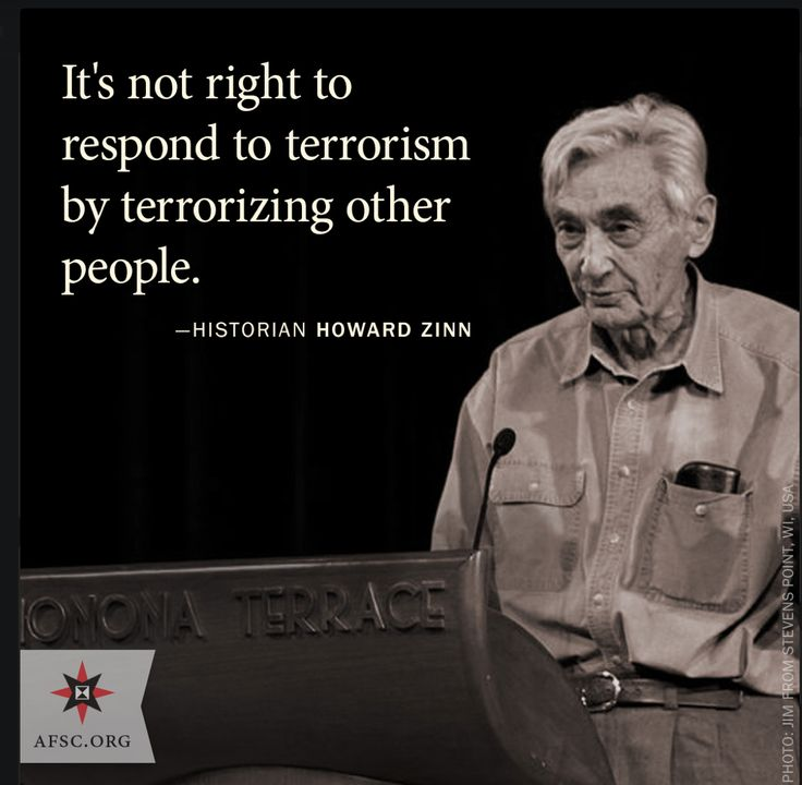 howard zinn chapter one 1 howard zinn explains that his purpose as a historian and his purpose for writing a people's history of the united states, is to tell history from the view points of the forgotten members of history, such as the cubans during the spanish-american war.