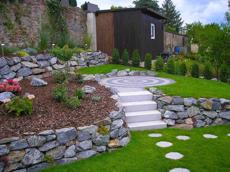 Ebenen im Garten Hanggarten Garten t Gardens Garten