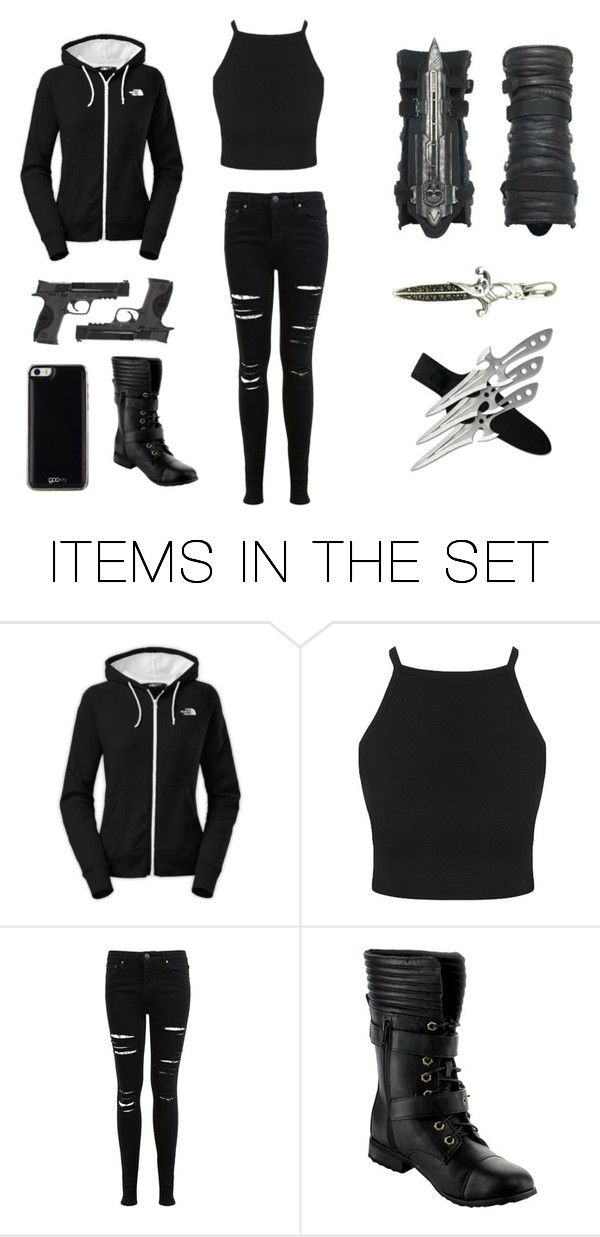 """modern assassins outfit"" by savana1472 on Polyvore featuring art and modern"