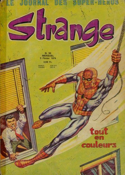 Un article sur John Buscema paru dans le Strange 50 des éditions Lug