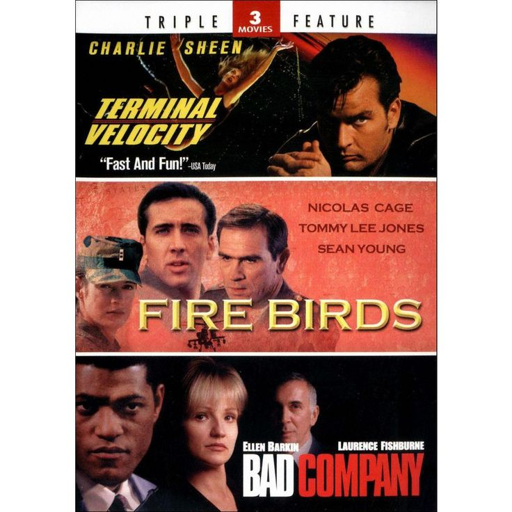 Terminal Velocity/Fire Birds/Bad Company (2 Discs) (Widescreen)