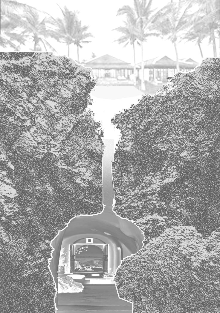 Inspiration Montage for a cave resort in Cadiz, Spain
