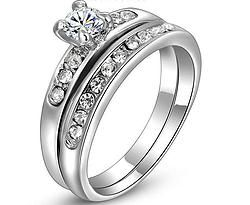 Inel logodna cu verigheta