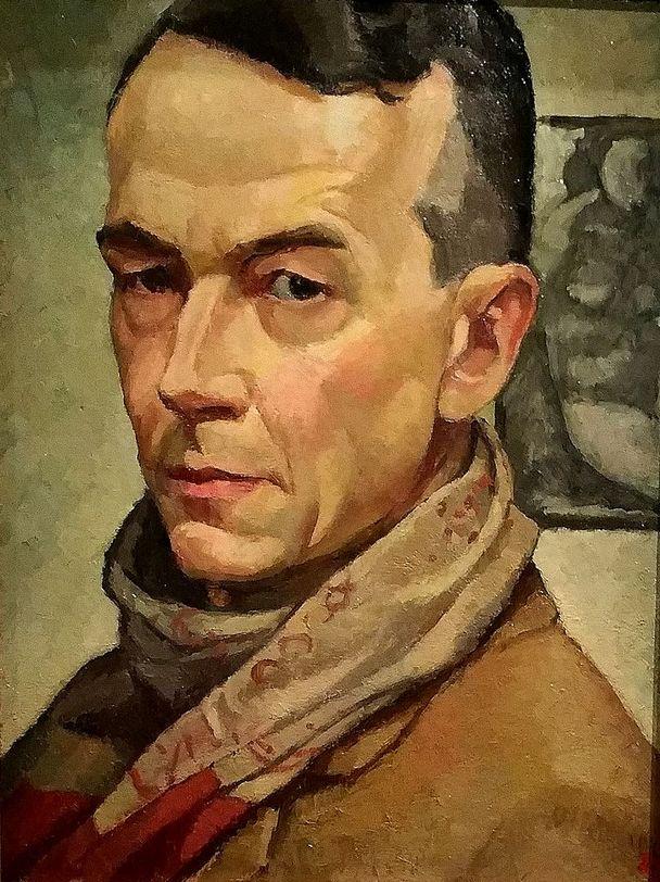 Edwin Holgate (1892-1977), 1934, Self-Portrait, Montreal Museum of Fine Arts