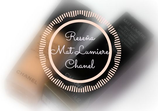 Reseña: Base de maquillaje Mat Lumiere