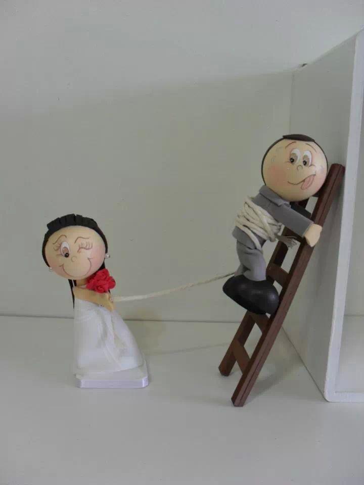 Fofuchas de boda originales