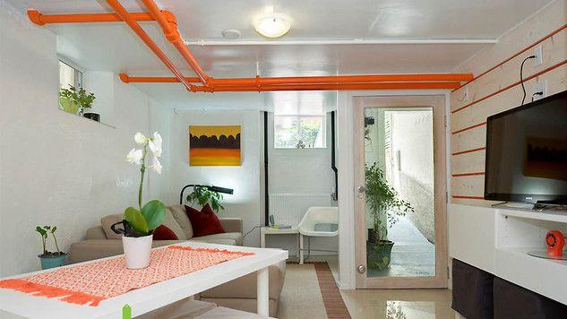 Cacher Tuyau Salle De Bain Idees