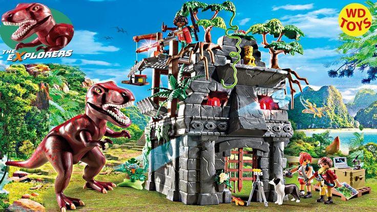 New Playmobil Dinosaur Toys 2018 New York Toy Fair The Explorers  Hidden...