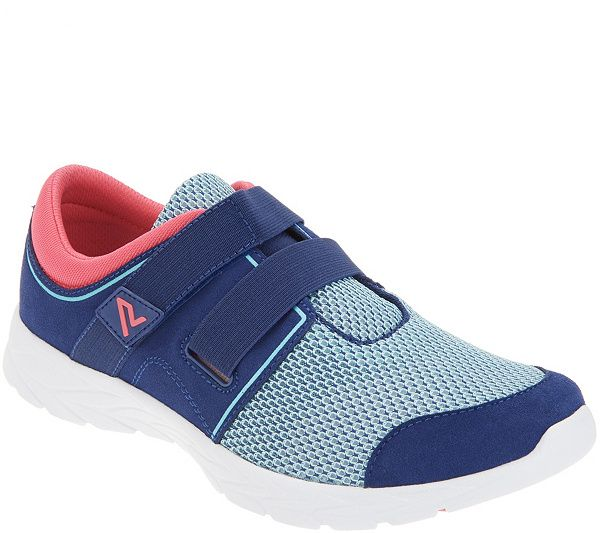Vionic Suede \u0026 Mesh Adjustable Sneakers
