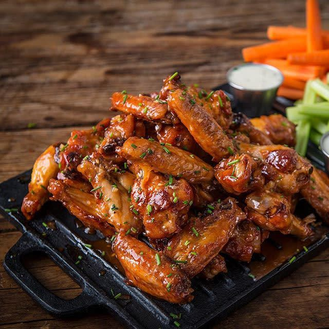 Roasted Peanut Butter Wings Recipe | Traeger Wood Fired Grills
