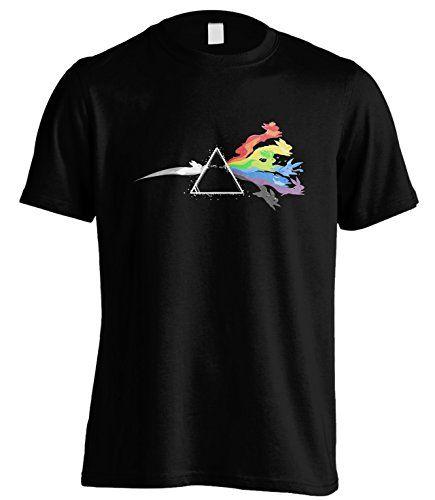 Sunshine T Shirts Dark Side of the Moon Stone Pokémon T Shirt - Poké-Mall
