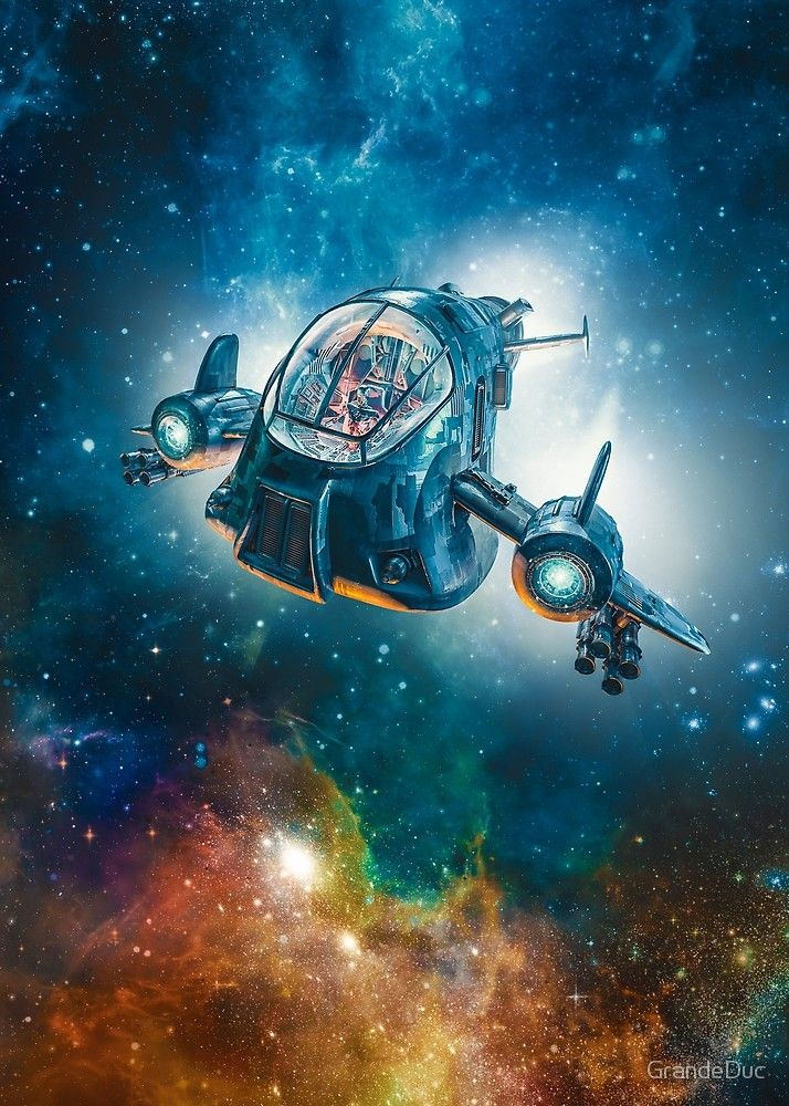 The Scout Ship By Grandeduc Science Fiction Fantasy Outer