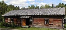 The folk museum of Taivalkoski, Lapland, Finland